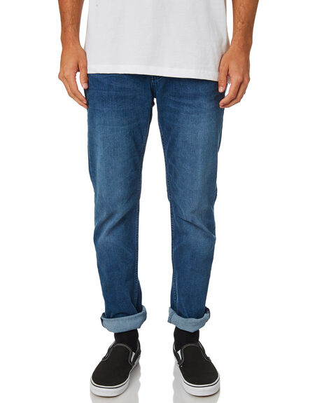 3efe2a90 Lee L-Two Mens Slim Tapered Jean - Moody Blue | SurfStitch