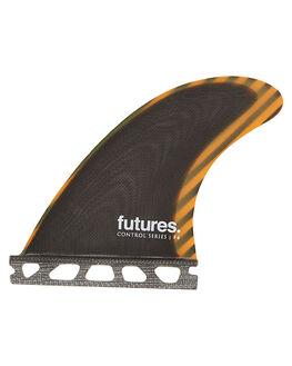 ORANGE SURF HARDWARE FUTURE FINS FINS - F04-010204ORG