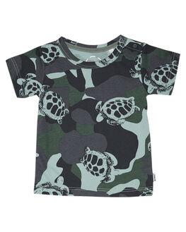 TURTLE CAMO KIDS BABY BONDS CLOTHING - KX8QNM1