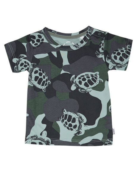 TURTLE CAMO KIDS BABY BONDS CLOTHING - KX8QNM1