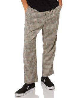LIGHT CHECK MENS CLOTHING STUSSY PANTS - ST005607LTCHK