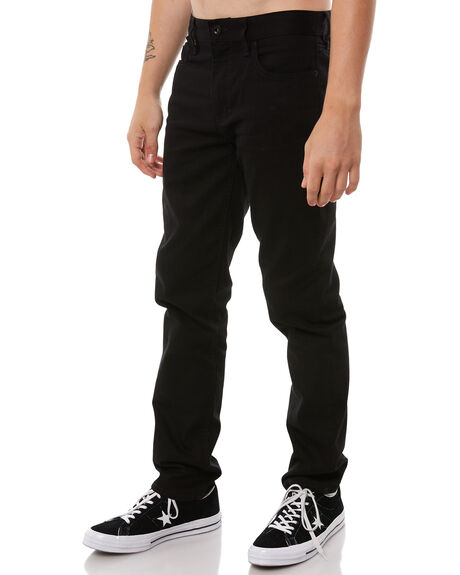 BLACK BLACK MENS CLOTHING RVCA JEANS - R183225BLK