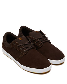 BROWN WHITE GUM MENS FOOTWEAR ETNIES SNEAKERS - 4101000517218