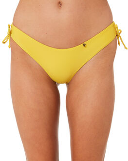 MUSTARD WOMENS SWIMWEAR AMORE AND SORVETE BIKINI BOTTOMS - S1MAITAIBTMMSTD