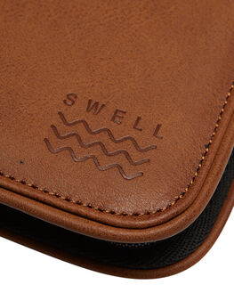BLACK MENS ACCESSORIES SWELL WALLETS - S51731555BLK