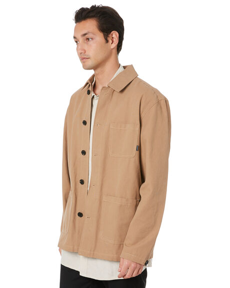 TAN MENS CLOTHING RPM JACKETS - 20PM20BTAN