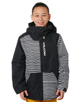 BLACK STRIPE BOARDSPORTS SNOW VOLCOM KIDS - I0452002BKS