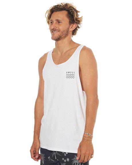 WHITE MENS CLOTHING SWELL SINGLETS - S5174271WHITE