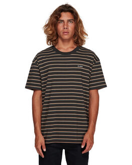 BLACK MENS CLOTHING BILLABONG TEES - BB-9591016-BLK