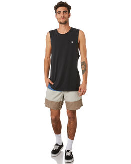 BLUE RINSE MENS CLOTHING VOLCOM SHORTS - A1031903RNE