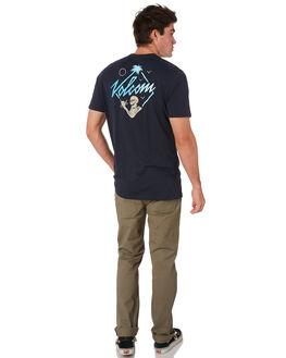 NAVY MENS CLOTHING VOLCOM TEES - A5001903NVY