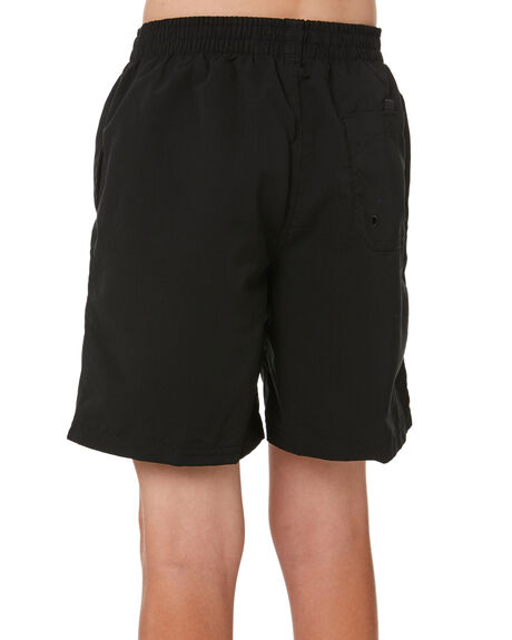 BLACK KIDS BOYS ZOGGS BOARDSHORTS - 566001BLK