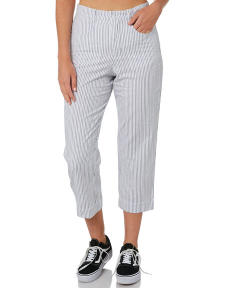 WHITE WOMENS CLOTHING ELEMENT PANTS - 284244WHT