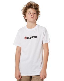 OPTIC WHITE KIDS BOYS ELEMENT TOPS - 383001OPWHT