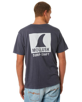 FADED NAVY MENS CLOTHING MOLLUSK TEES - MF14061FDNVY