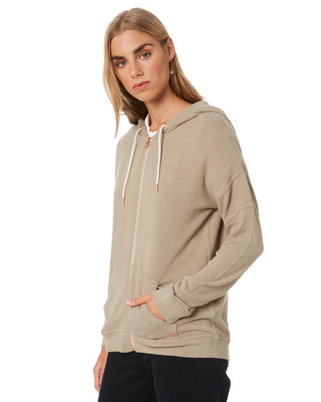 GREEN WOMENS CLOTHING VOLCOM JUMPERS - B3111802GRN