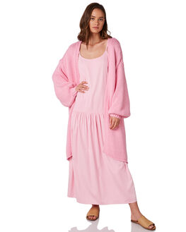 PINK WOMENS CLOTHING ZULU AND ZEPHYR KNITS + CARDIGANS - ZZ2850PPINK