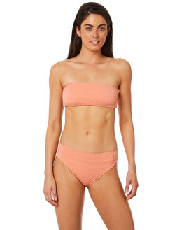 DUSTY PINK WOMENS SWIMWEAR FELLA SWIM BIKINI TOPS - FS-T-070DPI