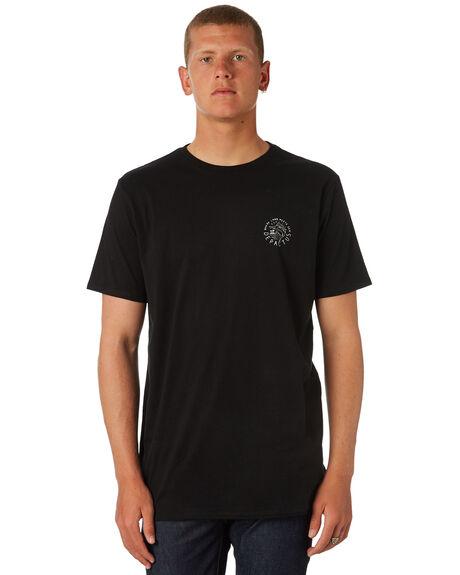 BLACK MENS CLOTHING DEPACTUS TEES - D5184011BLACK