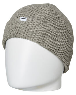 HEATHER GREY MENS ACCESSORIES BANKS HEADWEAR - BE0034HGR
