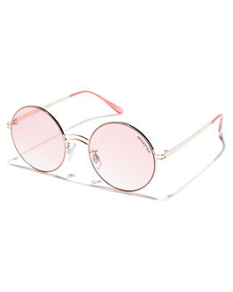 PINK GOLD WOMENS ACCESSORIES MINKPINK SUNGLASSES - MNP1808222GLD