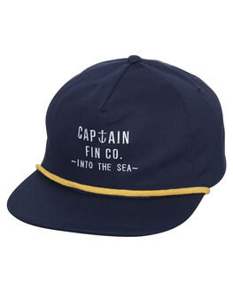 NAVY MENS ACCESSORIES CAPTAIN FIN CO. HEADWEAR - CH181038NVY