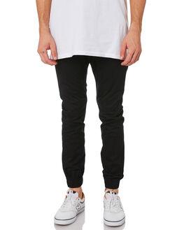 WASHED BLACK MENS CLOTHING ZANEROBE PANTS - 716-METWSBLK
