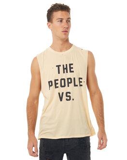 PEANUT SHELL OUTLET MENS THE PEOPLE VS SINGLETS - HS17006-PSPSHL