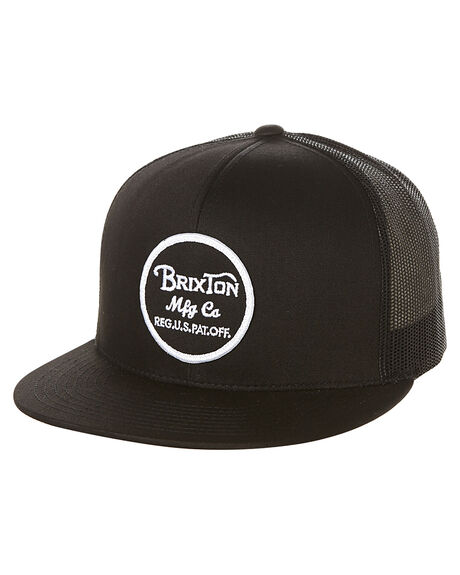 BLACK BLACK MENS ACCESSORIES BRIXTON HEADWEAR - 116-00014-0135BKBK