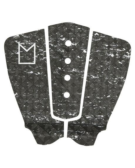 BLACK MARBLE BOARDSPORTS SURF MODOM TAILPADS - MTBCGBLKMA
