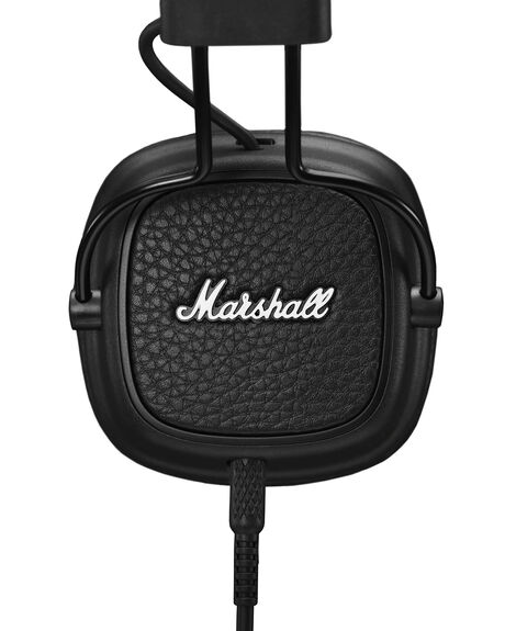 BLACK MENS ACCESSORIES MARSHALL AUDIO + CAMERAS - 154373BLK