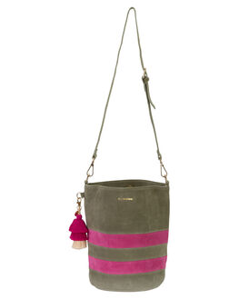 SAGE SUEDE WOMENS ACCESSORIES THE WOLF GANG BAGS + BACKPACKS - TWGAW20A03SAGE