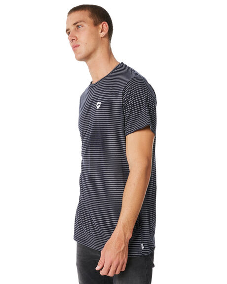 INSIGNIA BLUE MENS CLOTHING BANKS TEES - WTS0246ISB