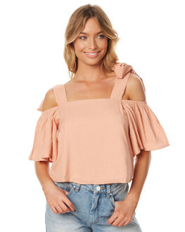 CLAY WOMENS CLOTHING MINKPINK FASHION TOPS - MP1607411CLAY