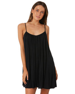 BLACK PEBBLE WOMENS CLOTHING BILLABONG DRESSES - 65821526BP