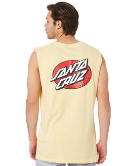 BUTTER MENS CLOTHING SANTA CRUZ SINGLETS - SC-MTC9247BUTR