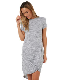 GREY MARLE WOMENS CLOTHING SILENT THEORY DRESSES - 6008016GREYM