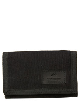 BLACK MENS ACCESSORIES RUSTY WALLETS - WAM0541BLK