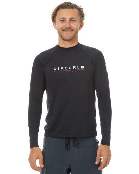 BLACK SURF RASHVESTS RIP CURL MENS - WLY7MM0090