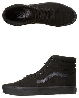 BLACK BLACK WOMENS FOOTWEAR VANS SNEAKERS - SSVN-A2Z5Y186BKBKW