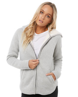 HERITAGE HEATHER WOMENS CLOTHING ROXY JUMPERS - ERJFT03722SGRH