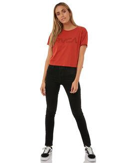 KETCHUP WOMENS CLOTHING RVCA TEES - R271685KETC