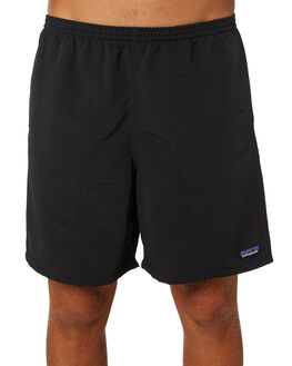 BLACK MENS CLOTHING PATAGONIA BOARDSHORTS - 58034BLK