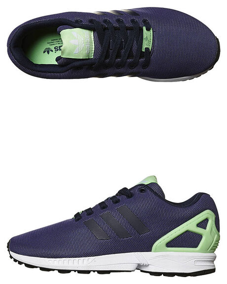 online store cc372 c9ff5 Adidas Originals Zx Flux Sneaker - Black Black White ...