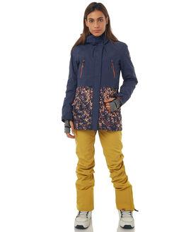 PEACOAT WATERLEAF BOARDSPORTS SNOW ROXY WOMENS - ERJTJ03120BTN4