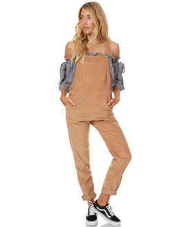 CARAMEL WOMENS CLOTHING RUE STIIC PLAYSUITS + OVERALLS - CC41CAR