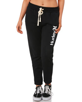 BLACK WOMENS CLOTHING HURLEY PANTS - BV1769010