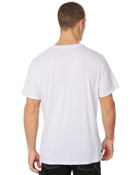 WASHED WHITE MENS CLOTHING MISFIT TEES - MT091008WASHW