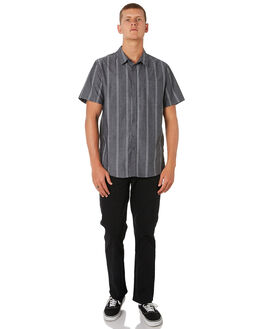 NAVY CHAMBRAY MENS CLOTHING SWELL SHIRTS - S5193170NVYCH