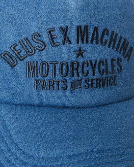 DARK BLUE MARLE MENS ACCESSORIES DEUS EX MACHINA HEADWEAR - DMA97835DBM